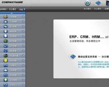 大型综合管理系统源码 瑞森ERP源码 CRM源码 OA源码 HR源码 asp.net