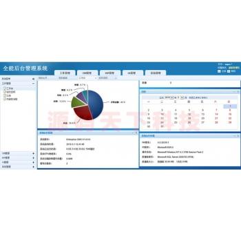大型综合管理系统源码 全能ERP管理系统源码 OA+CRM+ERP 界面美观 ASP.NET C#