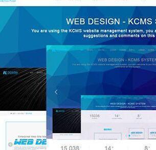 KCMS企业网站管理系统|启点在线企业网站源码 V1.1.2