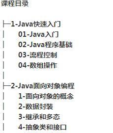 java零基础快速入门到精通VIP高端精品课程